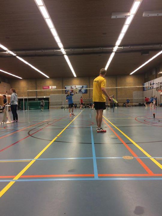 Vanavond Reflex Nijverdal tegen Flits Wierden 🏸Bam Bam ! 🏸
